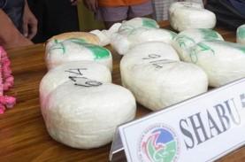 Paket Sabu Rp2,3 Miliar Dimusnahkan Kejaksaan Negeri…