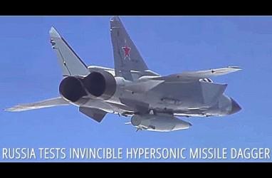 Rusia Uji Coba Rudal Supersonik Kinzhal