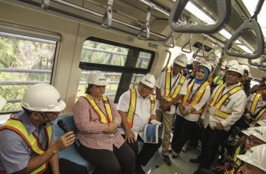 Operasi Perdana, LRT Jakarta Sediakan Hiburan Buat Warga
