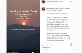 Seruling di Lembah Sunyi, Lagu Duka SBY untuk Bu Ani