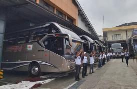 Ada Tol Trans-Sumatra, PO SAN Luncurkan 7 Unit Bus Baru