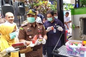 BBPOM Bandung Musnahkan 2.802 Produk Ilegal