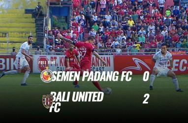 Bali United tekuk Semen Padang 2-0, Juarai Liga 1. Ini Video