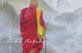 Sabar Subadri si Pelukis Kaki Gelar Pameran Tunggal Spirit Kehidupan