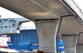 Crane Berkapasitas 35 Ton di Proyek Tol Bogor Patah Semalam