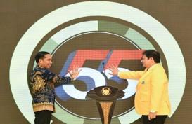 Jokowi Singgung Menteri Panggil DPD Golkar