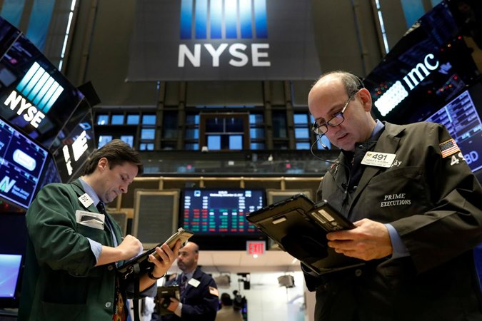 New York Stock Exchange (NYSE) di New York, AS. - REUTERS/Brendan McDermid