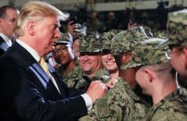 Donald Trump dan Emmanuel Macron Saling Serang Soal NATO