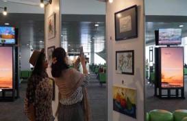Bandara Ahmad Yani Pamerkan Lukisan Anak Disabilitas dan Autisme