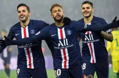 Hasil Lengkap Liga Prancis, PSG Mantapkan Pimpin Klasemen