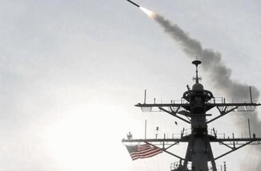 Angkatan Laut AS Sita Bagian Rudal dari Sebuah Kapal di Laut Arab