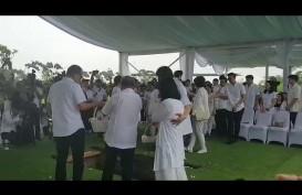 Nuansa Putih Warnai Pemakaman Ciputra di Jonggol