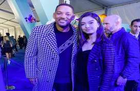 Hadiri World Premiere Spies in Disguise, Raline Shah Jumpa Will Smith dan Tom Holland