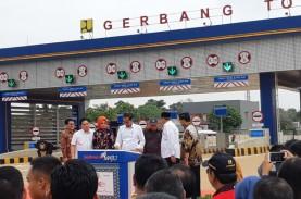 Presiden Joko Widodo Resmikan Tol Kunciran-Serpong
