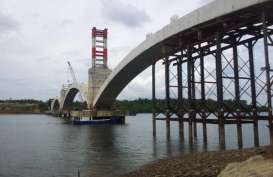 PUPR Targetkan Pembangunan Jembatan Pulau Balang II Selesai Akhir 2020