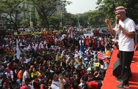 3.000 Pelajar Gelar Demo di Depan Kantor Gubernur Jateng
