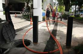 Pedestrian Jalan Jenderal Sudirman Bebas Kabel Semrawut
