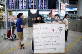 Polisi Hong Kong Jinakkan 2 Bom Rakitan di Gedung…