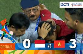 Indonesia Ditekuk Vietnam 0-3. Raih Medali Perak, Evan Dimas di Kursi Roda