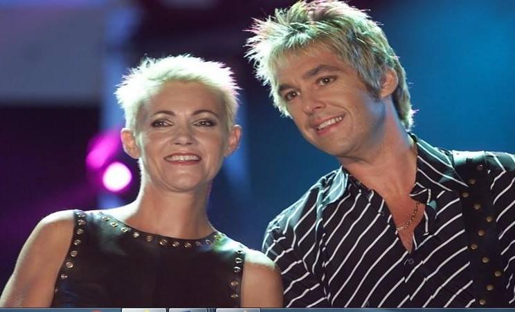Marie Fredriksson dan rekan duetnya Per Gessle. - Reuters