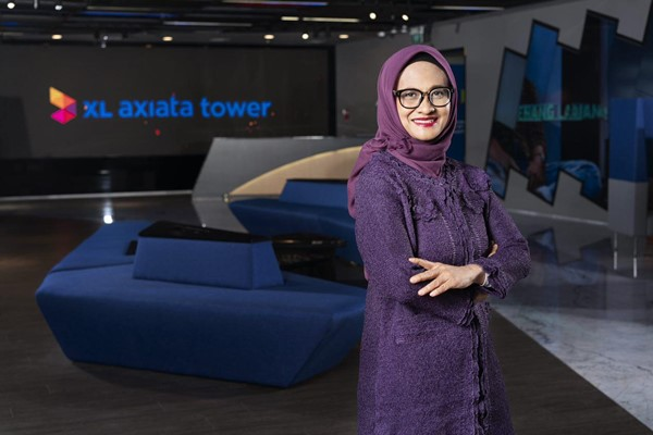 CEO PT XL Axiata Tbk. Dian Siswarini - XL Axiata