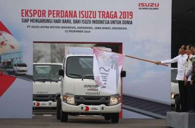 Lepas Isuzu Traga, Jokowi Targetkan Ekspor Otomotif 1 Juta Unit