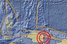 Gempa Bumi Bermagnitudo 4,5 Guncang Manokwari
