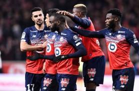 Hasil Liga Prancis, Lille Bertahan di Posisi Ke-3…