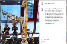 Benda Cagar Budaya Papua Dijual Online di Eropa, Begini…