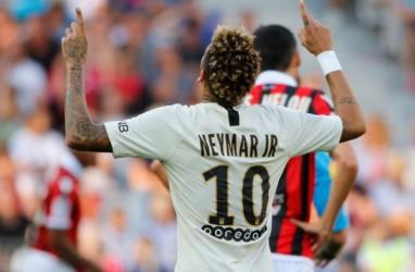 Neymar Kalahkan Lionel Messi dan Cristiano Ronaldo di Twitter
