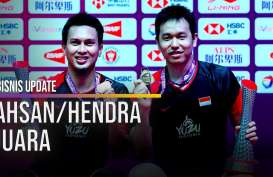 Mantap! Ahsan/Hendra Juara BWF World Tour Finals 2019