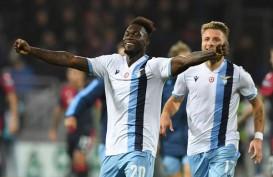 Lazio Menang Secara Ajaib, Hentikan 13 Pertandingan Tanpa Kalah Cagliari