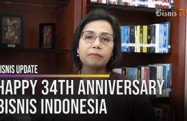 Ini Harapan Menkeu Sri Mulyani hingga Menhub Budi Karya pada HUT ke-34 Bisnis Indonesia
