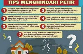 7 Tips Menghindari Sambaran Petir