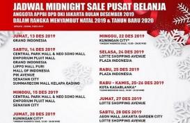 Catat, Jadwal Midnight Sale 2019 di Jakarta