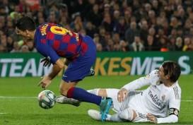 Gol Madrid Dianulir, El Clasico vs Barcelona Berujung Tanpa Gol