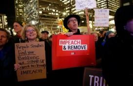 Dimakzulkan DPR AS, Trump Sebut-sebut Bunuh Diri