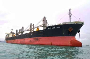 Pelita Samudera Shipping (PSSI) Serah Terima Kapal Dewi Gandawati
