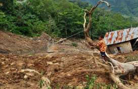 BPBD Lebak: Ribuan Warga Tinggal di Lokasi Rawan Longsor