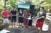 Serang Ayam, Ular Piton Sepanjang 3,5 Meter Berhasil Ditangkap Warga