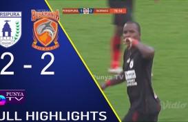 Persipura vs Borneo FC 2-2, Runner up Milik Persebaya. Ini Videonya