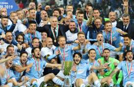 Hajar Juventus, Lazio 5 Kali Juara Piala Super Italia