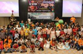 Harris Hotel Sentraland Semarang Undang 150 Anak Yatim…