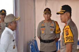 250 Petugas Kepolisian Amankan Tol Palembang–Lampung