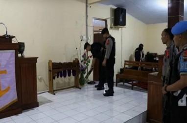 Perayaan Natal 2019: Polres Banjarnegara Lakukan Sterilisasi Gereja