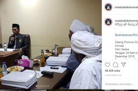 Ustaz Abdul Somad Resmi Sandang Gelar Doktor dari…