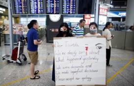 Unjuk Rasa tetap Berlangsung meski Hong Kong tengah Merayakan Natal