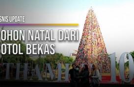 Pemprov DKI Hadirkan Pohon Natal Persatuan di Thamrin 10