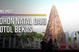 Pemprov DKI Hadirkan Pohon Natal Persatuan di Thamrin…