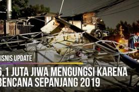 6,1 Juta Jiwa Mengungsi karena Bencana Sepanjang 2019
